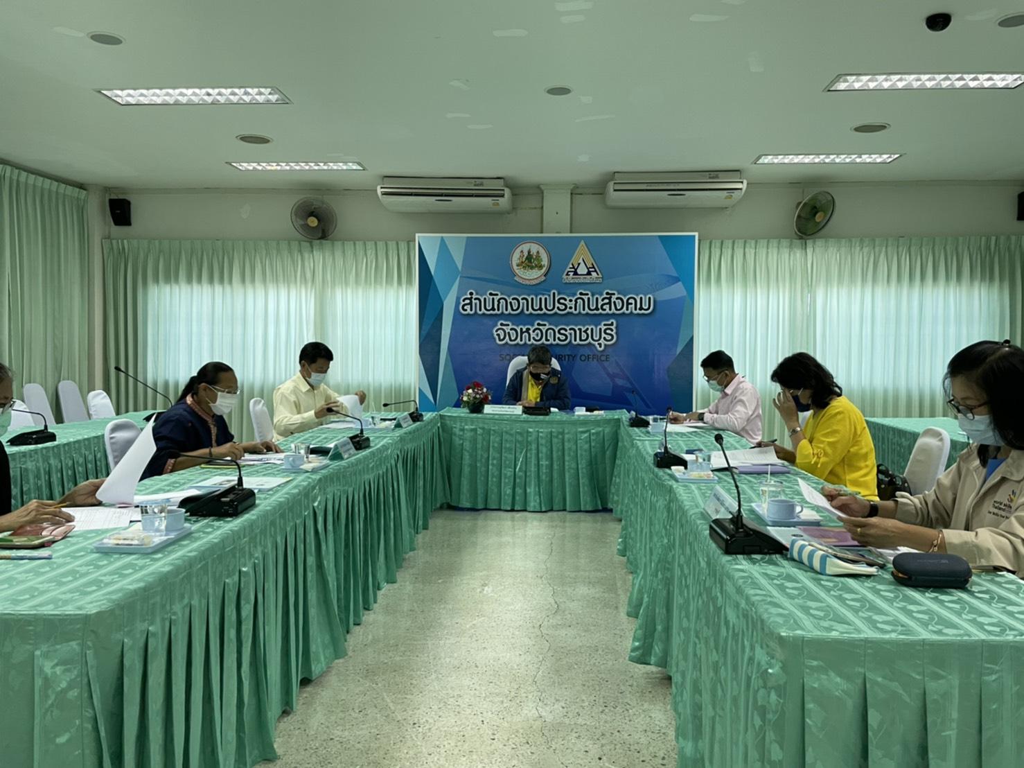 การประชุมหัวหน้าส่วนราชการสังกัดกระทรวงแรงงานจังหวัดราชบุรีครั้งที่ ๑๒/๒๕๖๓